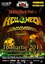 Concert Helloween şi Gamma Ray la Arenele Romane din Bucureşti