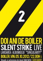 Concert Silent Strike LIVE în Boiler Club din Cluj-Napoca