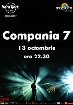 Concert unplugged Compania 7 în Hard Rock Cafe din Bucureşti
