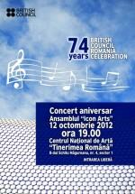 """Concert aniversar la Centrul Naţional de Artă """"Tinerimea Română"""" din Bucureşti"""