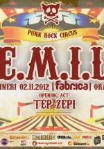 Concert E.M.I.L. în Club Fabrica din Bucureşti