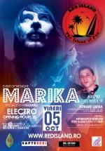 DJ Marika în Club Red Island din Bucureşti