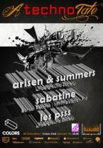 Arisen & Summers, Sabatine, Les Psss în Colors Club din Bucureşti