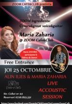 Maria Zaharia & Alin Ilies în Zoom Cafe din Bucureşti