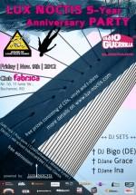 DJ Bigo, DJane Grace, DJane Ina în Club Fabrica din Bucureşti