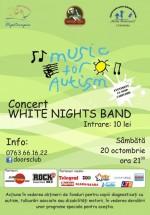 Concert White Night Band în Club Doors din Constanţa