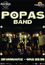 Popas Band în Hard Rock Cafe din Bucureşti