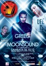 Greeg & MoonSound în Club Red Island din Bucureşti