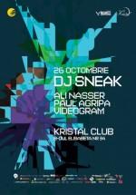 DJ Sneak în Kristal Club din Bucureşti