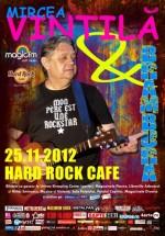 Mircea Vintilă & Brambura în Hard Rock Cafe din Bucureşti