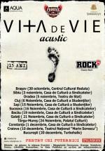 Viţa de Vie Acustic – turneu naţional – ANULAT