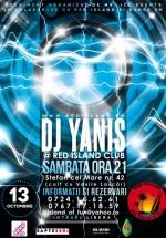 DJ Yanis în Club Red Island din Bucureşti