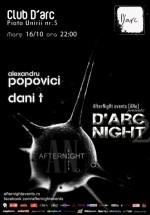 Alexandru Popovici şi Dani T în Club D'Arc din Timişoara