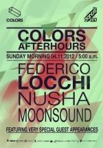 Federico Locchi, MoonSound şi Nusha în Colors Club din Bucureşti