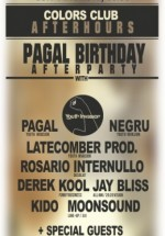 Pagal B-Day After Party în Colors Club din Bucureşti
