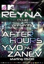 Yvo Zanev în Reyna Club din Bucureşti