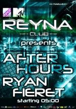 Ryan Fieret în Reyna Club din Bucureşti