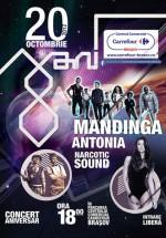 Concert Mandinga, Antonia şi Narcotic Sound la Carrefour Braşov