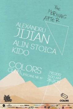 Alexandru Jijian, Alin Stoica şi Kido în Colors Club