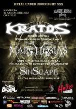 Concert Kratos în Ageless Club din Bucureşti