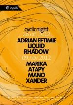 Adrian Eftimie, Liquid şi Rhadow în Kasho Club din Braşov