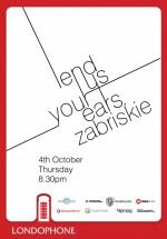 Zabriskie în Club Londophone din Bucureşti