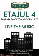 Concert Etajul 4 LIVE în Music Club din Bucureşti