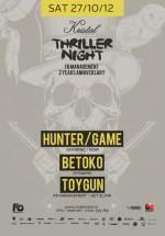 Thriller Night în Kristal Club din Bucureşti