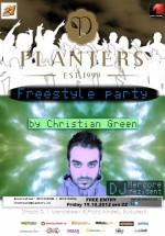 DJ Christian Green în Club Planters din Bucureşti