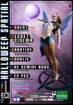 Secret Cinema şi Egbert în Space Club din Bucureşti