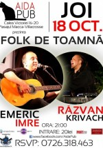 Concert Emeric Imre în Aida Cafe din Bucureşti