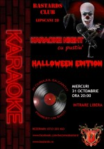 Karaoke Halloween Night în Bastards Club din Bucureşti