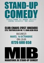 Stand-Up Comedy în Chaos Venue din Bucureşti