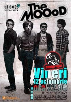 Concert The MOOoD în Club Doors din Constanţa