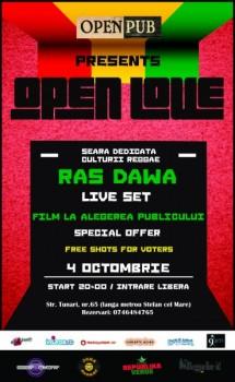 Open Love / Red Edition în Open Pub din Bucureşti