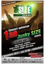 1 an de Junky SIZE Events în Kulturhaus din Bucureşti