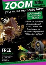 Zoom your music memories în Zoom Cafe din Bucureşti