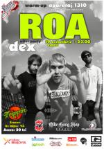 Concert R.O.A. în Trippin Cafe din Braşov