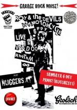 Roy and the Devils Motorcycle în Panic! Club din Bucureşti
