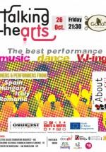Talking heArts la Godot Cafe-Teatru din Bucureşti