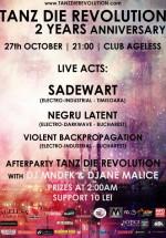 Violent BackPropagation, Sadewart, Negru Latent în Ageless Club din Bucureşti