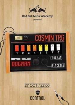 Cosmin TRG în Control Club din Bucureşti