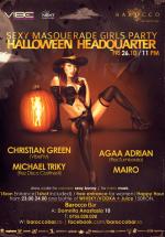Halloween HeadQuarter în Barocco Bar din Bucureşti