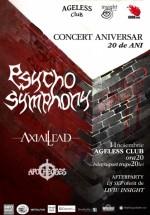 Concert aniversar Psycho Symphony în Ageless Club din Bucureşti