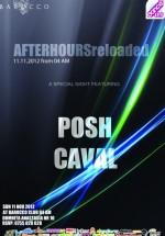Posh şi Caval în Barocco Bar din Bucureşti