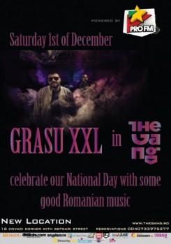 Concert Grasu XXL în The Gang din Bucureşti