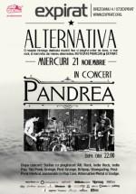Concert Pandrea în Club Expirat din Bucureşti
