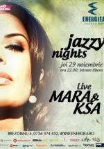 Concert Mara & Ksa în Energiea din Bucureşti
