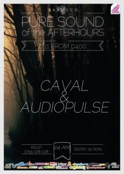 AudioPulse şi Caval în Barocco Bar din Bucureşti