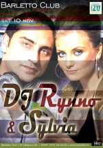 DJ Rynno & Sylvia în Barletto Club din Bucureşti